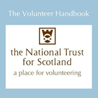 eLearning module - interactive Volunteer Handbook for the National Trust for Scotland