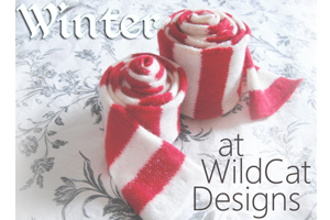 Promotional image designed for WildCat Designs knitwear